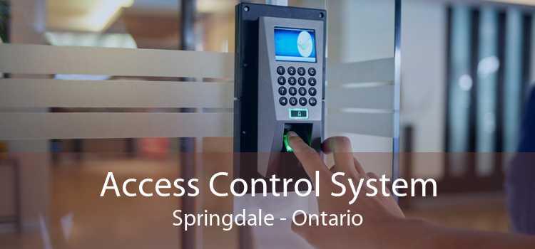 Access Control System Springdale - Ontario
