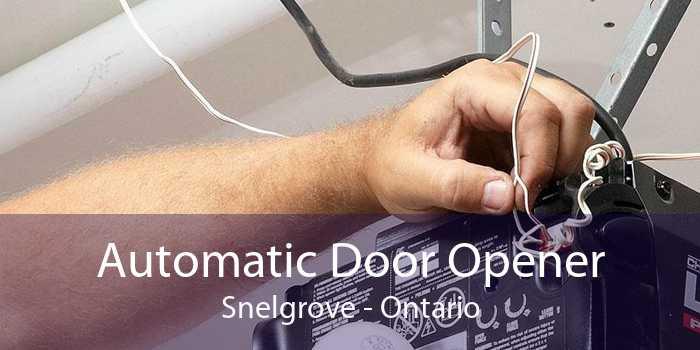 Automatic Door Opener Snelgrove - Ontario