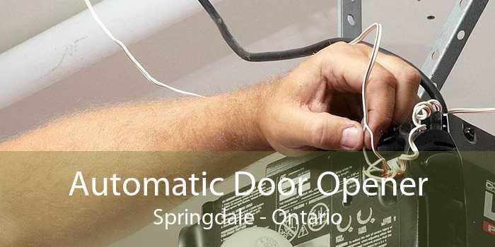 Automatic Door Opener Springdale - Ontario