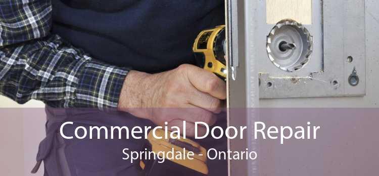 Commercial Door Repair Springdale - Ontario