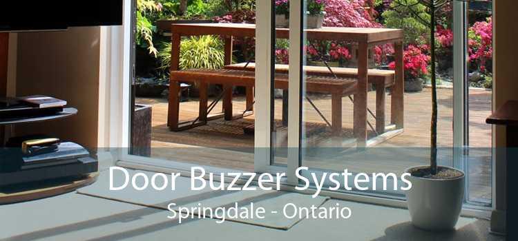 Door Buzzer Systems Springdale - Ontario