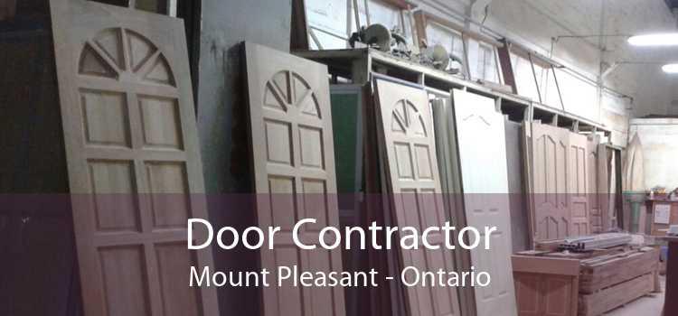 Door Contractor Mount Pleasant - Ontario