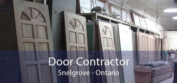 Door Contractor Snelgrove - Ontario