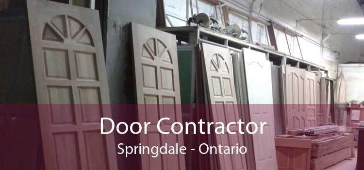 Door Contractor Springdale - Ontario