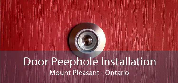 Door Peephole Installation Mount Pleasant - Ontario