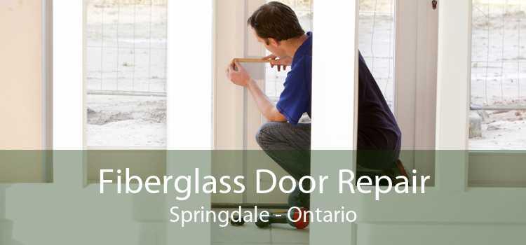 Fiberglass Door Repair Springdale - Ontario