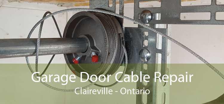 Garage Door Cable Repair Claireville - Ontario