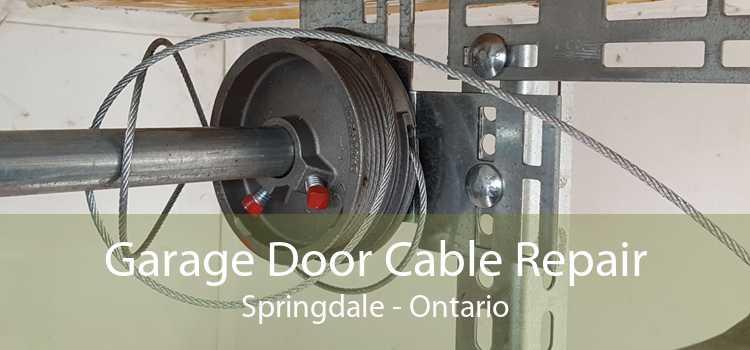 Garage Door Cable Repair Springdale - Ontario