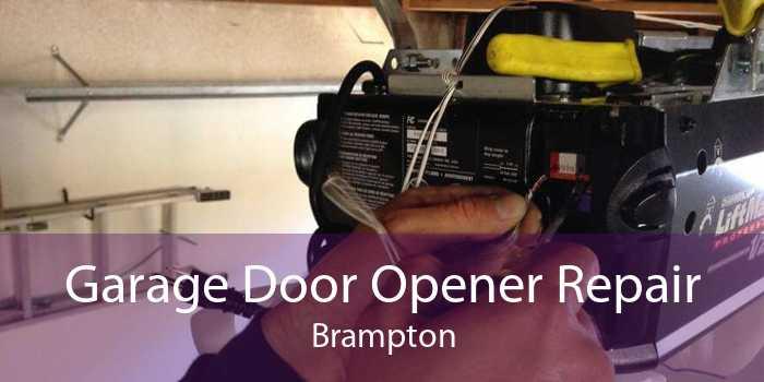 Garage Door Opener Repair Brampton