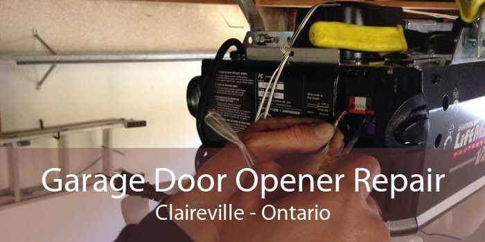 Garage Door Opener Repair Claireville - Ontario