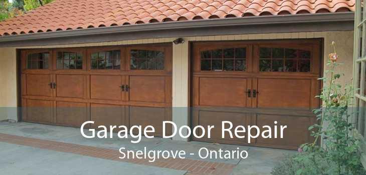 Garage Door Repair Snelgrove - Ontario