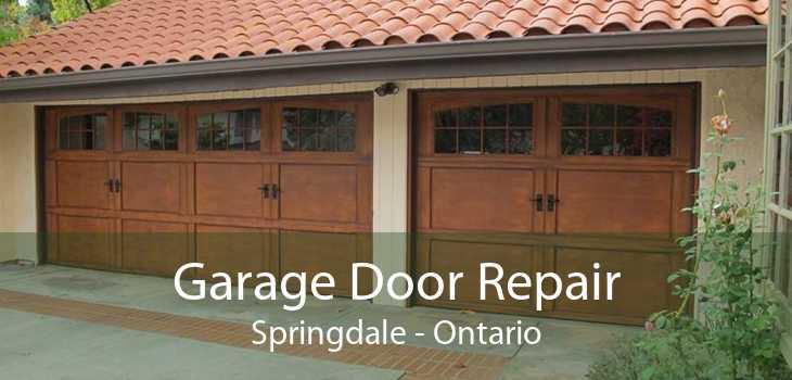 Garage Door Repair Springdale - Ontario