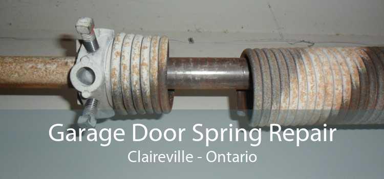 Garage Door Spring Repair Claireville - Ontario