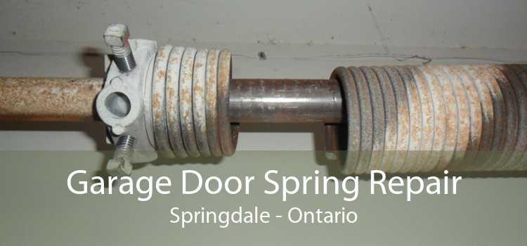 Garage Door Spring Repair Springdale - Ontario