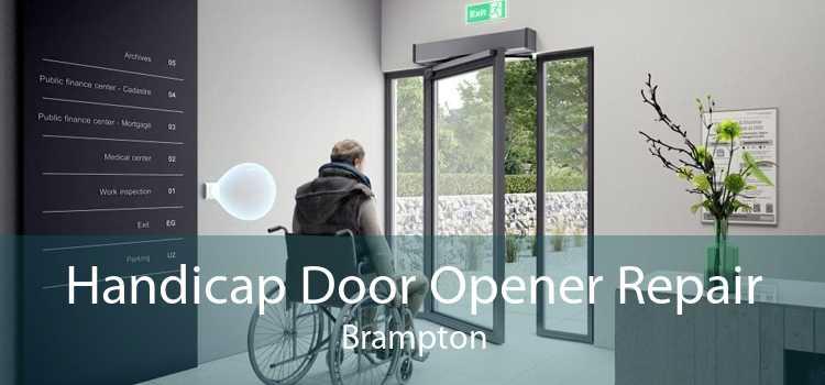 Handicap Door Opener Repair Brampton