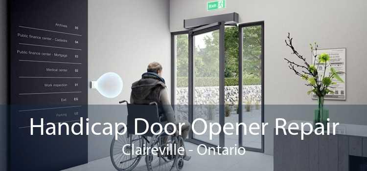Handicap Door Opener Repair Claireville - Ontario