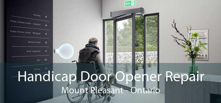 Handicap Door Opener Repair Mount Pleasant - Ontario
