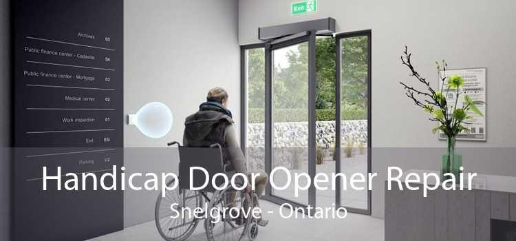 Handicap Door Opener Repair Snelgrove - Ontario