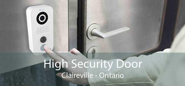 High Security Door Claireville - Ontario