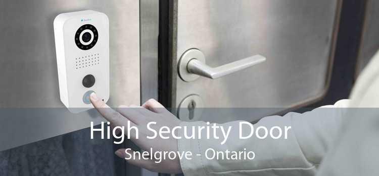 High Security Door Snelgrove - Ontario