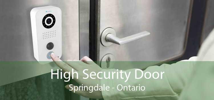 High Security Door Springdale - Ontario