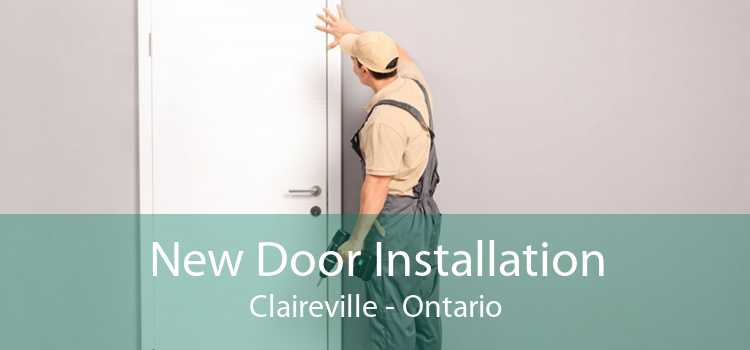 New Door Installation Claireville - Ontario