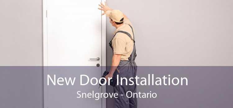 New Door Installation Snelgrove - Ontario