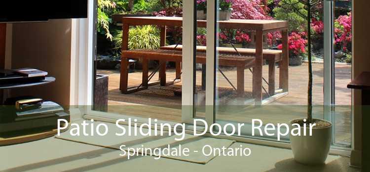 Patio Sliding Door Repair Springdale - Ontario