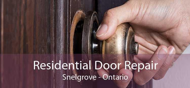 Residential Door Repair Snelgrove - Ontario