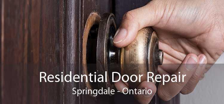 Residential Door Repair Springdale - Ontario