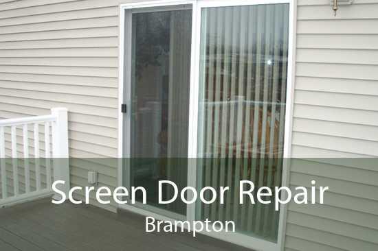 Screen Door Repair Brampton