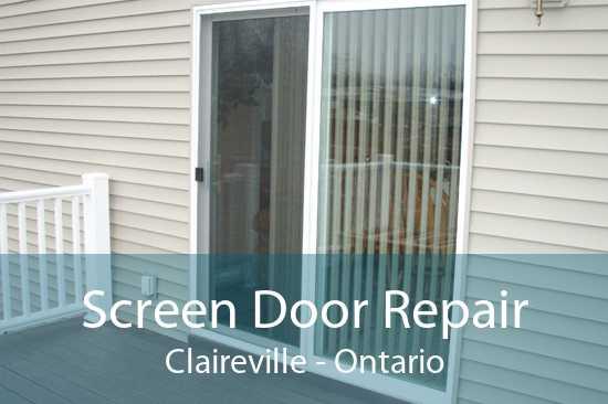 Screen Door Repair Claireville - Ontario