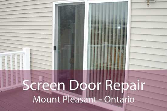Screen Door Repair Mount Pleasant - Ontario