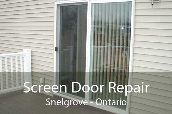 Screen Door Repair Snelgrove - Ontario