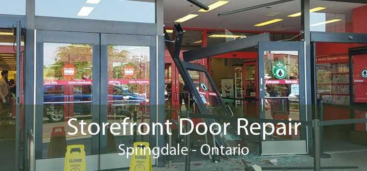 Storefront Door Repair Springdale - Ontario