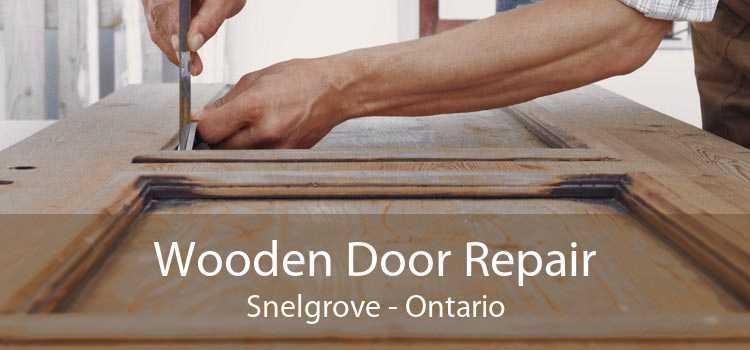 Wooden Door Repair Snelgrove - Ontario