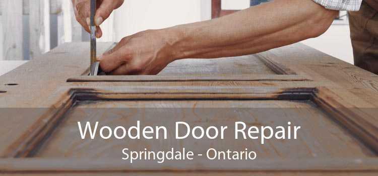 Wooden Door Repair Springdale - Ontario